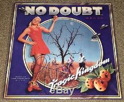 Gwen Stefani No Doubt SIGNED Tragic Kingdom- LP vinyl record with K9 Holo
