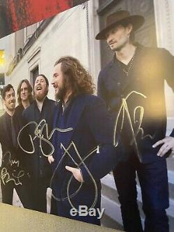 HAND-SIGNED My Morning Jacket Waterfall II Spotify Yellow Vinyl x/1000 Copies