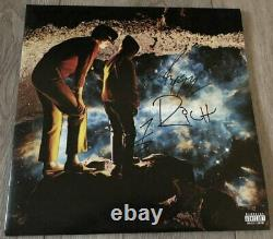 HIGHLY SUSPECT SIGNED AUTOGRAPH THE BOY WHO DIED WOLF VINYL ALBUM MCID withPROOF