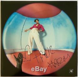 Harry Styles Hand Signed 12 Vinyl Fine Line Music Autograph 1