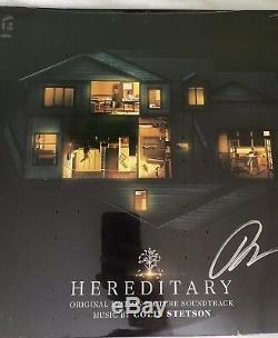 Hereditary Vinyl OST Signed Ari Aster Soundtrack Ltd 90 A24 Record 2LP SEE PICS