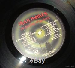 IRON MAIDEN The Number Of The Beast RECORD LP VINYL 80's NWOBHM AUTOGRAPHED Sign