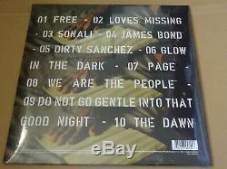 Iggy Pop Free Blue Coloured Lp Vinyl Record & Ltd Edt Of Only 50 Signed Print