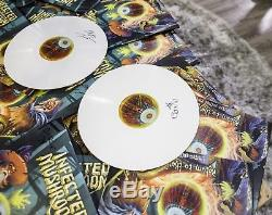 Infected Mushroom Return To The Sauce 2017 WHITE Vinyl 2LP Psy Trance SIGNED