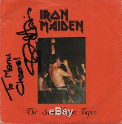 Iron Maiden The Soundhouse Tapes Orig. ROK 1 SIGNED 7 Vinyl Single Record
