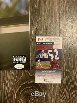 J COLE Autograph Signed 2014 Forest Hills Drive Vinyl Record LP Album! JSA COA