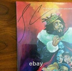 J. COLE KOD Signed Autographed LIMITED EDITION Red Marble Vinyl NEW! SEALED