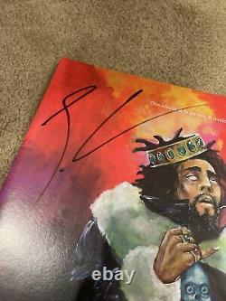 J. Cole KOD LP Signed Limited Edition Red Vinyl Autographed RARE