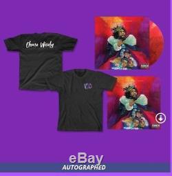 J. Cole Limited Edition Color KOD Vinyl Signed + Digital Album + T Shirt