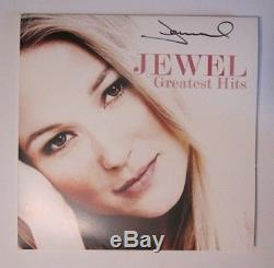 JEWEL GREATEST HITS Vinyl LP Signed AUTOGRAPHED