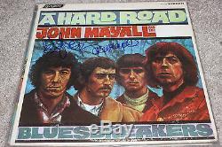 JOHN MAYALL & PETER GREEN Signed Bluesbreakers Vinyl Record FLEETWOOD MAC (1)
