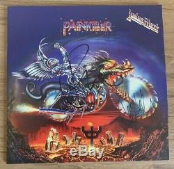 JUDAS PRIEST Painkiller VINYL LP signed By Rob Halford and Ian Hill