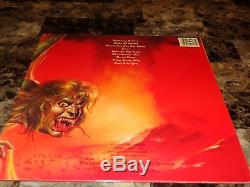 Jake E. Lee Rare Hand Signed Ultimate Sin Vinyl LP Record Ozzy Osbourne Badlands