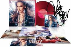 Jennifer Lopez SIGNED AUTOGRAPH LOVE Glitterati Box Set CD Vinyl LP Litho NEW