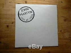 John Martyn Live At Leed Ltd Edition SIGNED Very Good Vinyl Record ILPS 9343