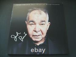 John Prine Autographed Signed The Tree of Forgiveness Vinyl LP JSA PSADNA