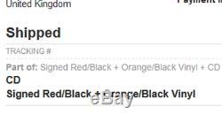 Judas Priest Firepower SIGNED Red/Black + Orange/Black Vinyl Double LP CD