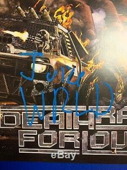 Juice Wrld Signed Vinyl PSA/DNA COA Death Race For Love Album Lp Record Rare