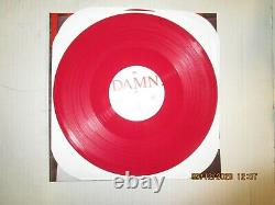 KENDRICK LAMAR Damn. 2xLP Used! 2017 TDE LIMITED RED VINYL SIGNED BY K. DOT