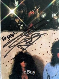 KISS First KISS. Last Licks Promo Signed Vinyl LP