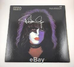 KISS Signed Autographed Paul Stanley Solo Album Vinyl COA