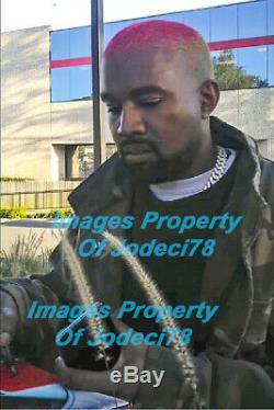 Kanye West Signed YEEZUS with SKETCH Vinyl Album EXACT Proof JSA Yeezy