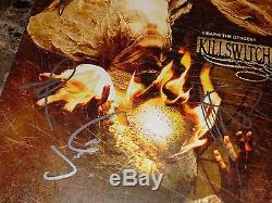 Killswitch Engage RARE Band Signed Disarm The Descent Limited Vinyl Record + COA