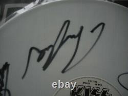 Kiss Unholy 12' Single White Vinyl U. K. Import 1992 Signed By All Super Rare
