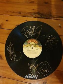 Kiss signed Alive and Alive 2 Vinyl L. P. Records by original 4 members