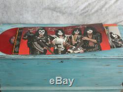 Kiss sonic boom red vinyl lp signed autographed limited 2009 gatefold poster