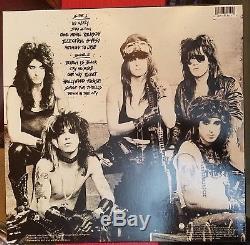 L. A. Guns Autographed Debut Vinyl Lp