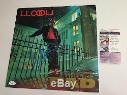 LL COOL J signed Vinyl LP BAD Record Autograph 1987 Def Jam Original JSA