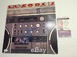 LL COOL J signed Vinyl LP RADIO Record Autograph 1985 Def Jam Original JSA
