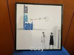 La La Land Blue Vinyl Signed Justin Hurtwitz Autograph RARE Colored