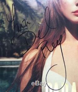 Lana Del Ray Signed Paradise LP Album Vinyl Record JSA #M90330