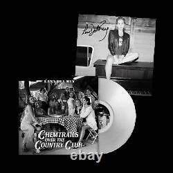 Lana Del Rey Chemtrails Over The Country Club Clear Vinyl Signed 12 Lithograph
