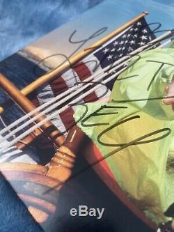 Lana Del Rey NFR Signed Blue Edition Vinyl