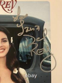 Lana Del Rey Signed LUST FOR LIFE Vinyl Record Autographed JSA COA