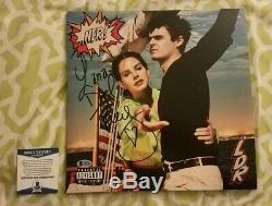 Lana Del Rey signed autograph vinyl record NFR Beckett/BAS COA #A93428 Norman