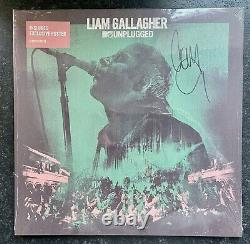 Liam Gallagher Oasis Unplugged Vinyl Signed & Sealed Exclusive Autograph