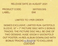 Lorde Solar Power SIGNED D2C Exclusive Gatefold Deluxe Vinyl LP AUTOGRAPHED