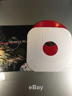 MARILYN MANSON ANTICHRIST SUPERSTAR Autographed Twiggy Ramirez RED VINYL OOP