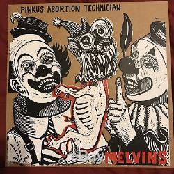MELVINS Pinkus Abortion Technician Tour LP SIGNED Limited Haze XXL vinyl