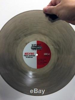 MELVINS Pinkus Abortion Technician Tour LP, SIGNED, Limited, Haze XXL vinyl