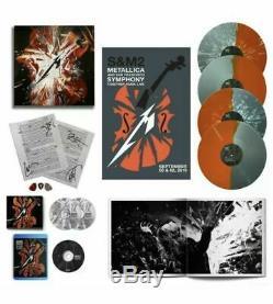 METALLICA SIGNED PRE-ORDER S&M2 Super Deluxe LP Vinyl Box Set