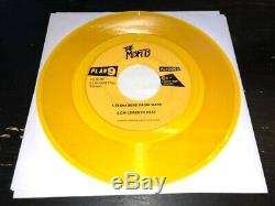 MISFITS HORROR BUSINESS 1979 7 1ST PRESS YELLOW VINYL Signed Danzig Only Doyle