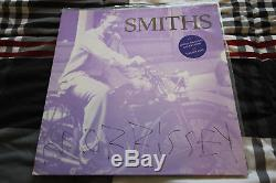 MORRISSEY signed 12 single vinyl record THE SMITHS Money Changes Everything