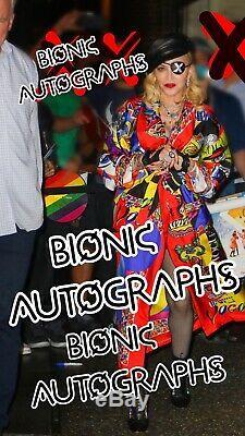 Madonna Madame X Signed Pride Picture Disc Rainbow Vinyl LP RARE Autograph