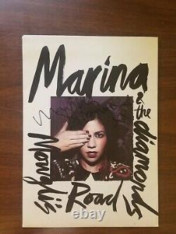 Marina & The Diamonds Mowgli's Road / Space and Woods Vinyl 7 SIGNED RARE 2009