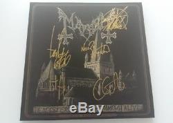 Mayhem De Mysterris Dom Lp Vinyl Signed Autographed 1burzum1 Darkthrone Rare